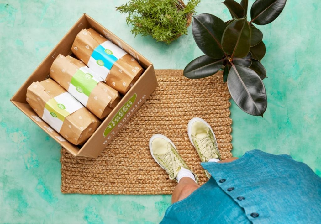 meal kits to your door gift subscription is a nice thoughtful solution for an entrepreneur