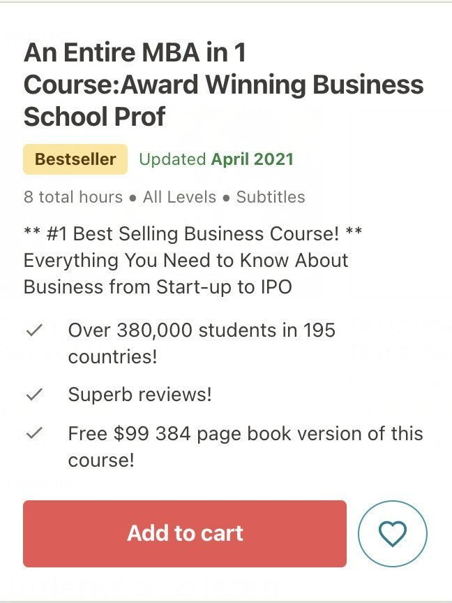 mba course for business owners